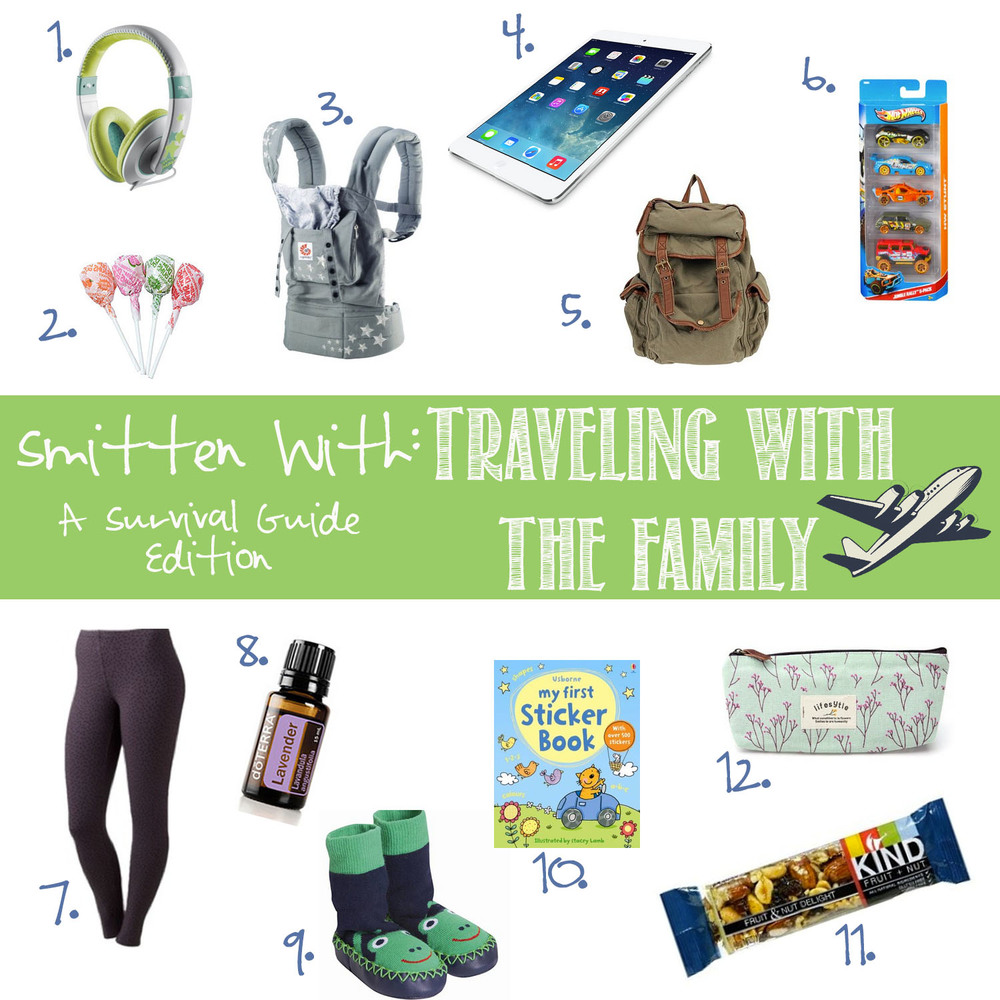 Smitten with: Traveling with the family survival guide