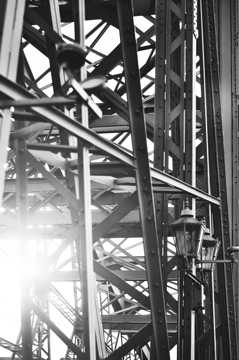 The Blue Wonder Bridge Dresden