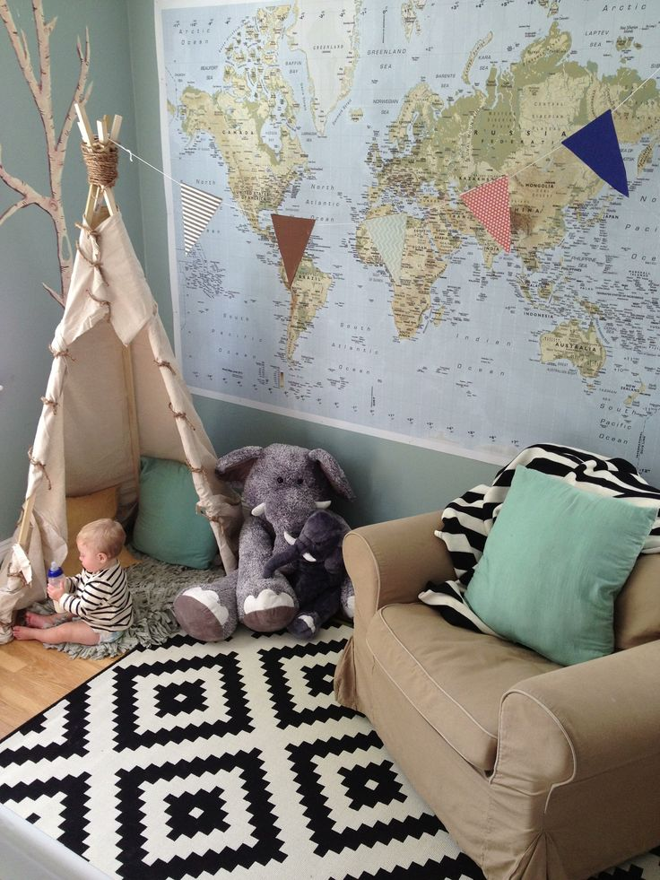 Love that little teepee! From Schue Love.