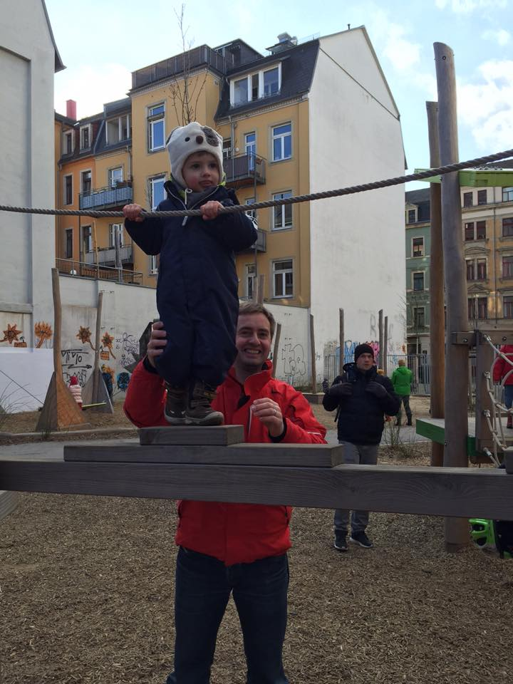playtime at a playground in Neustadt