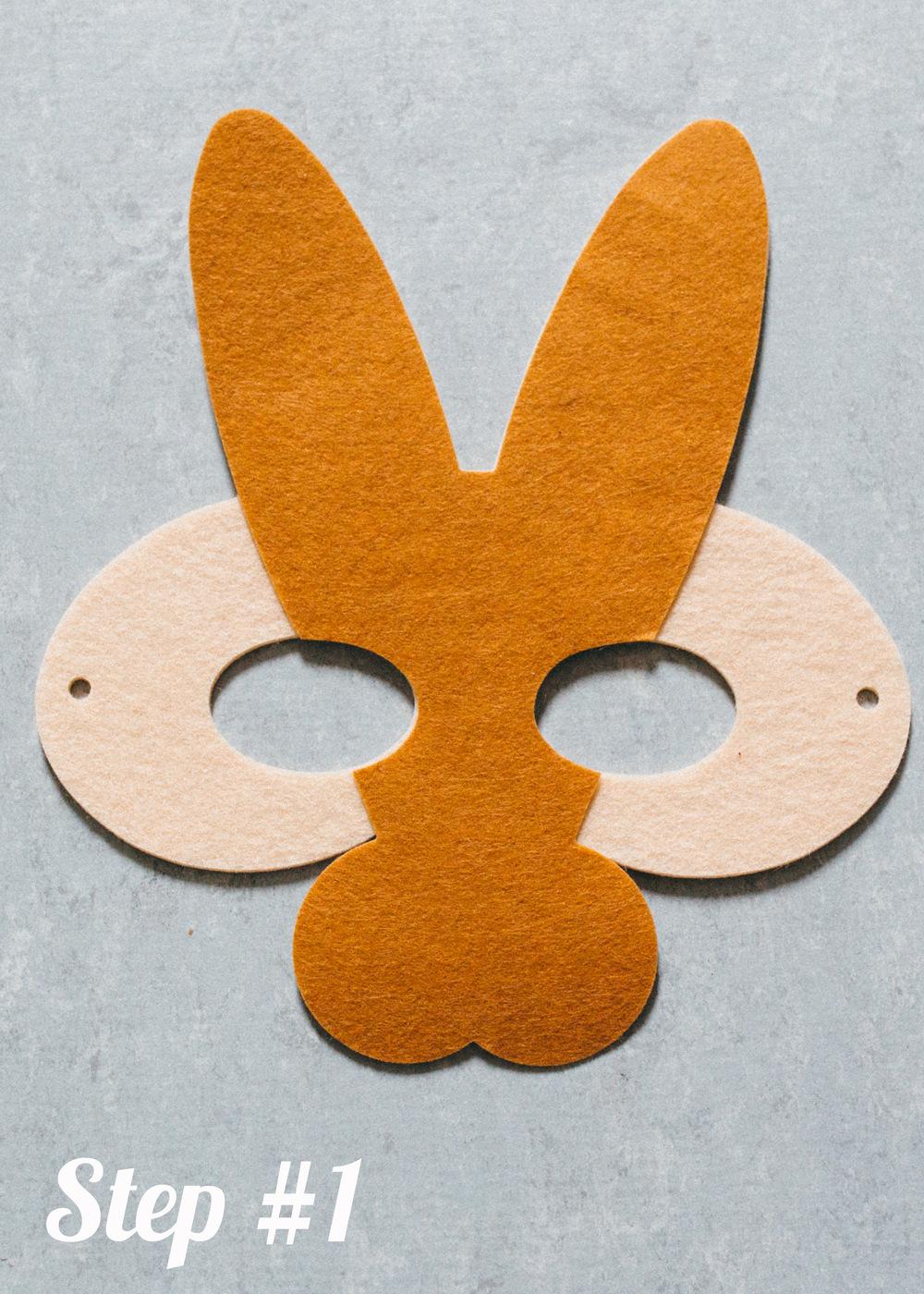Rabbit Mask step1