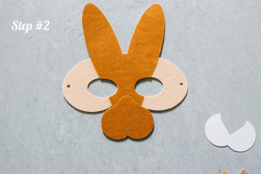Rabbit Mask step 2