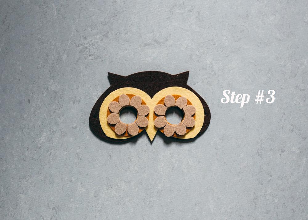 Owl Mask step 3