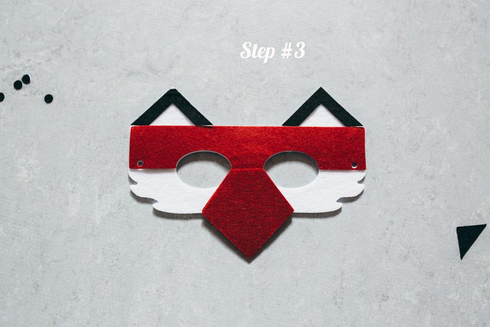 Fox Mask step 2