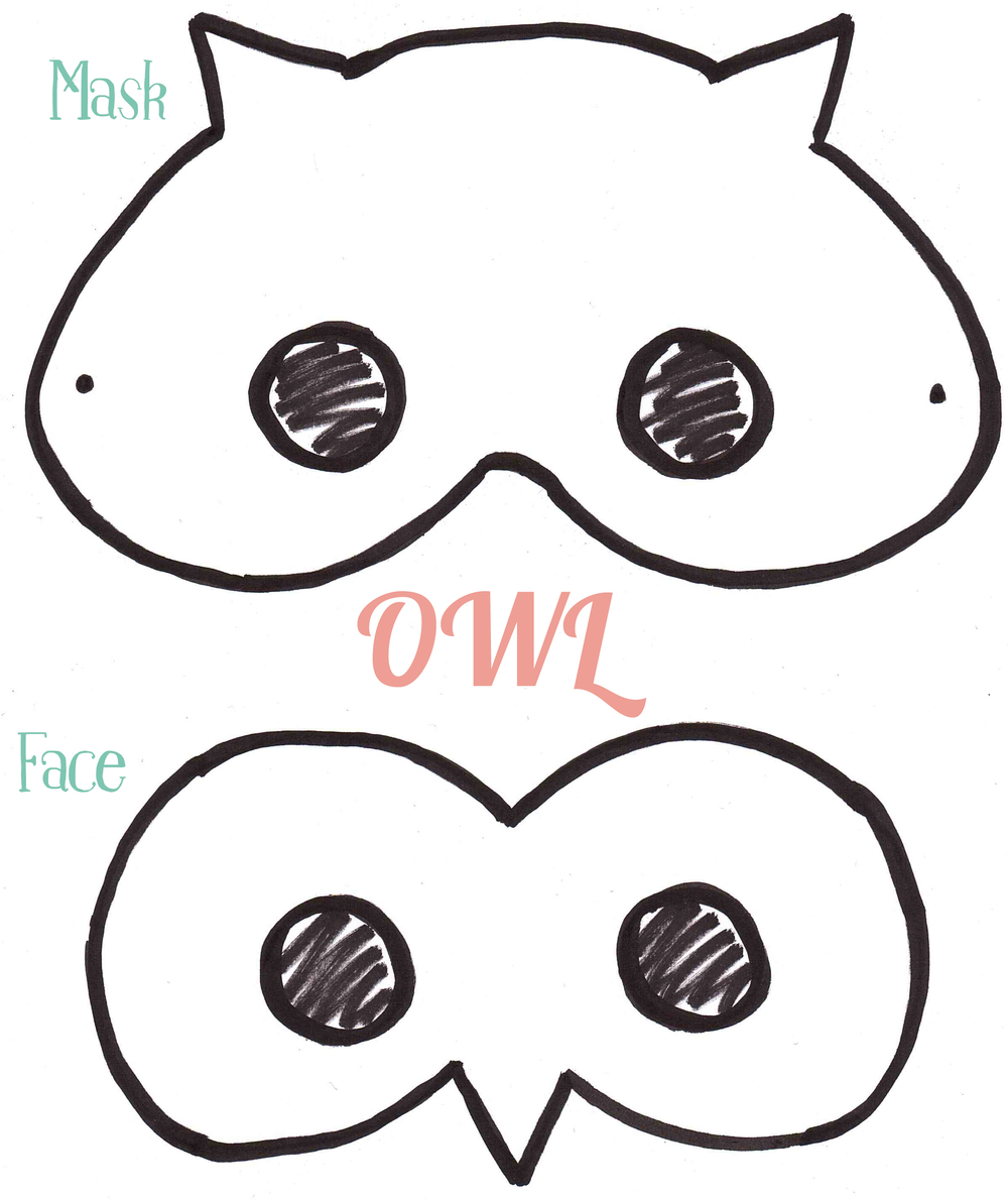 Owl Mask 1