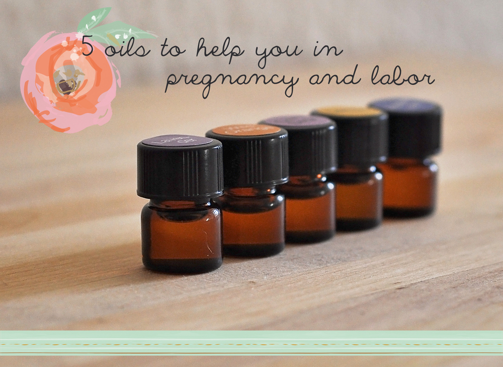 essential oil for pregnancy and labor