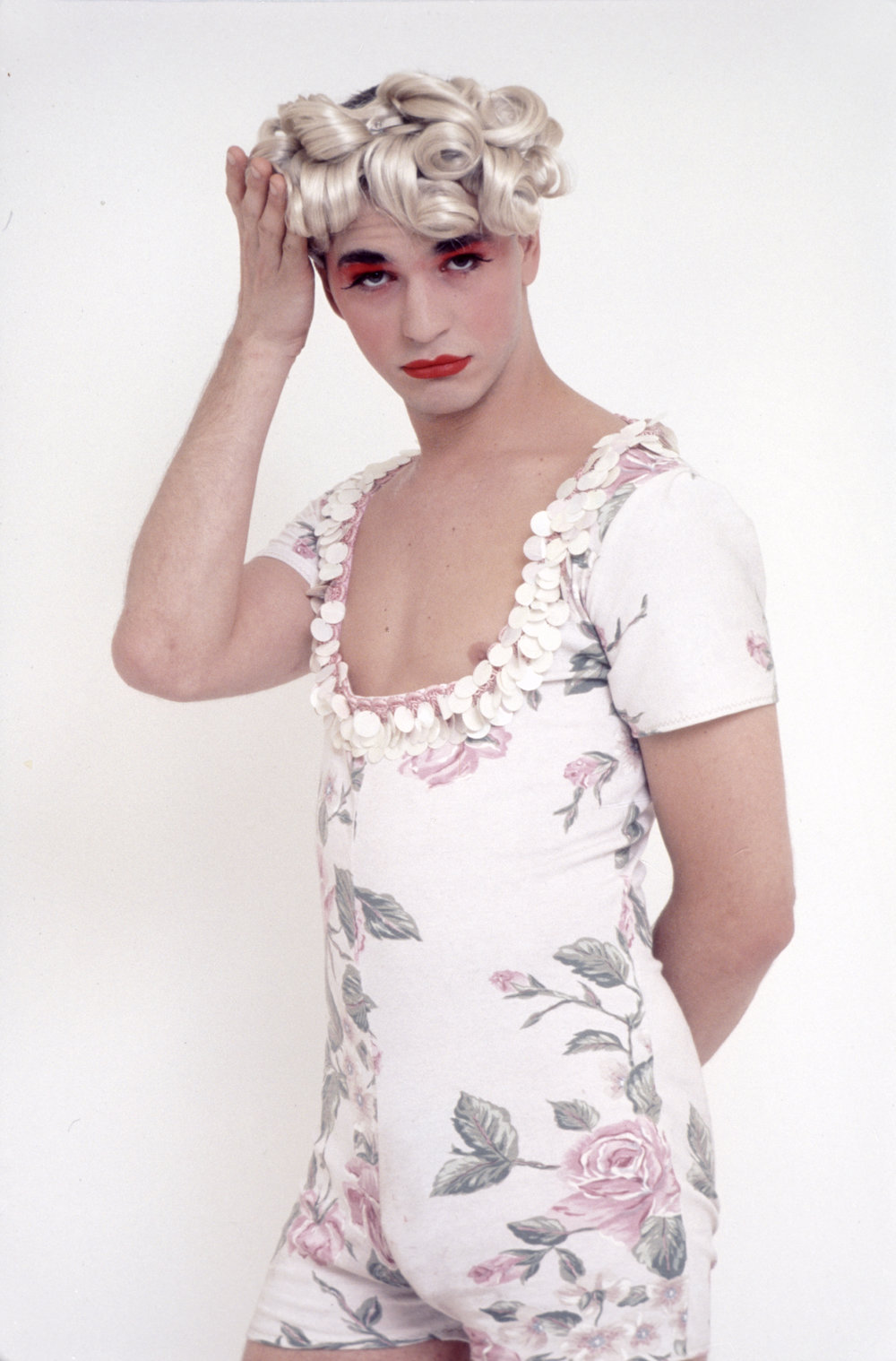 Micahel Alig, 1991.  Photograph by Michael Fazakerley.