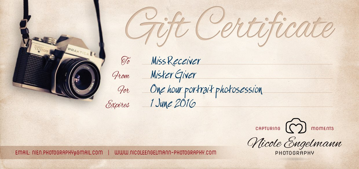 Gift Voucher Example pic