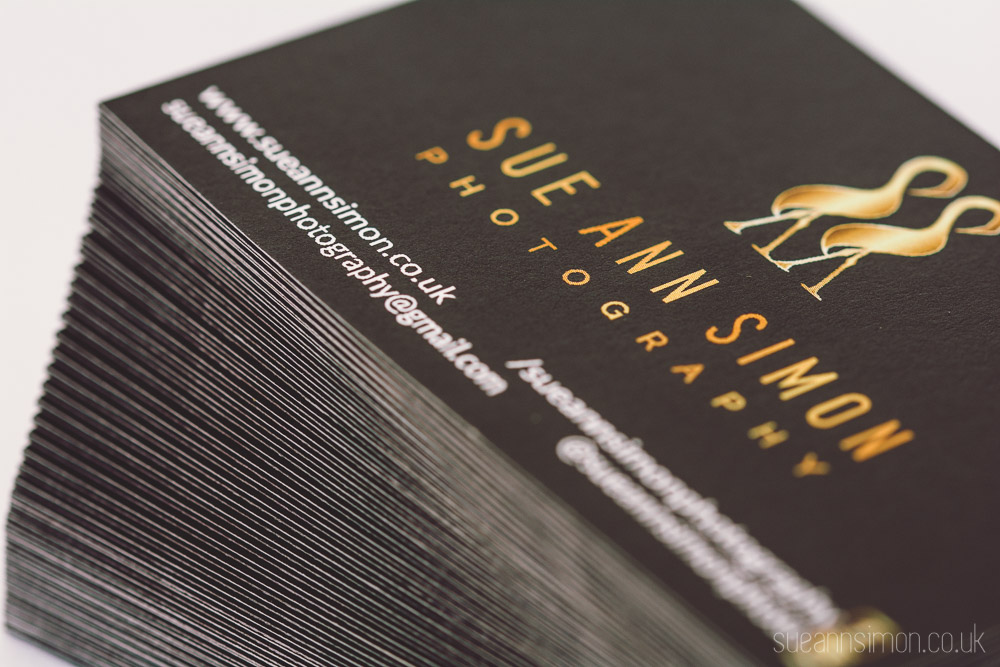 Moo Luxe Business Cards Review + DIY Gold Foil Edge — Fun ...