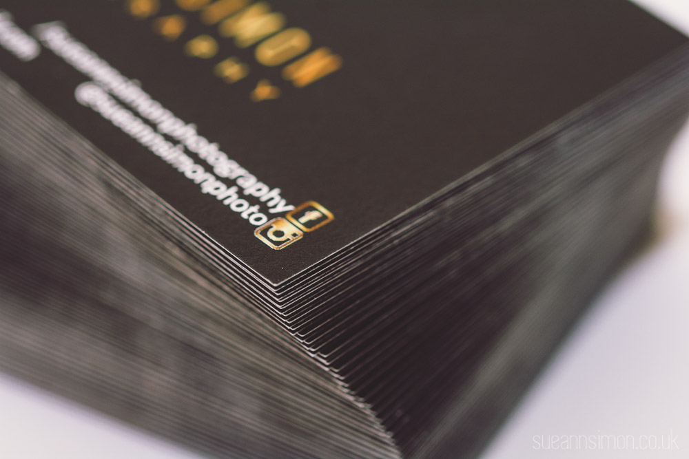 50 Moo Luxe Business Cards stacked beautifully!