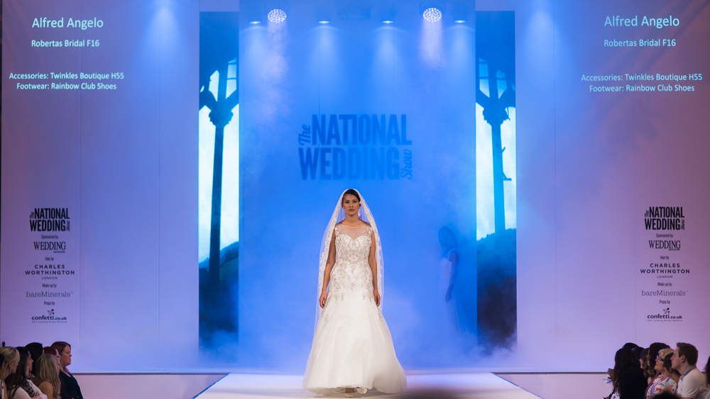 National Wedding Show Birmingham | Roberta's Bridal | Sue Ann Simon Photography 6