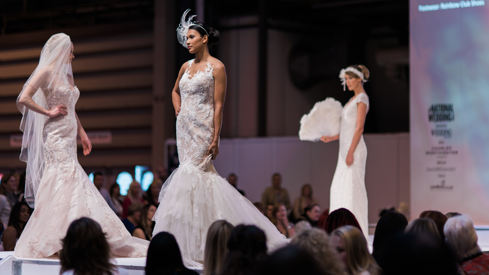 National Wedding Show Birmingham | Georgina Scott Bridal | Sue Ann Simon Photography 4