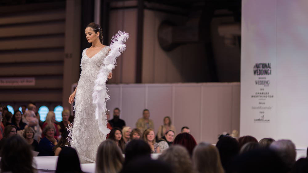National Wedding Show Birmingham | Georgina Scott Bridal | Sue Ann Simon Photography 6