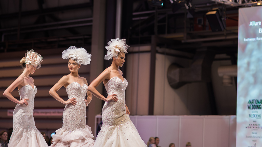 National Wedding Show Birmingham | Allure Bridals | Great Expectations Bridal | Sue Ann Simon Photography