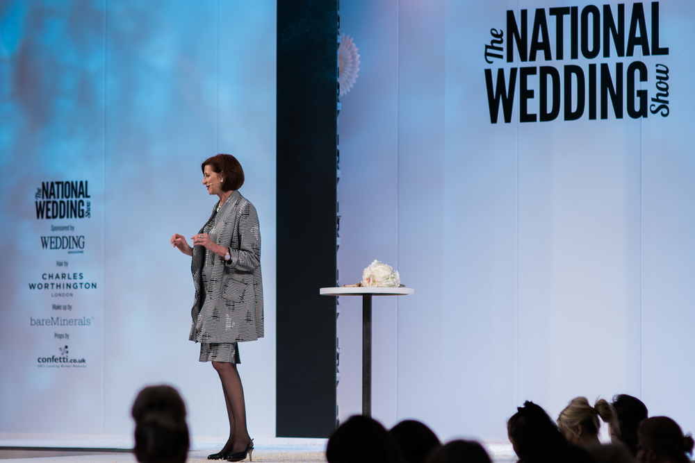 National Wedding Show Birmingham | Michele Paradise | Bridal Coach UK | Sue Ann Simon Photography