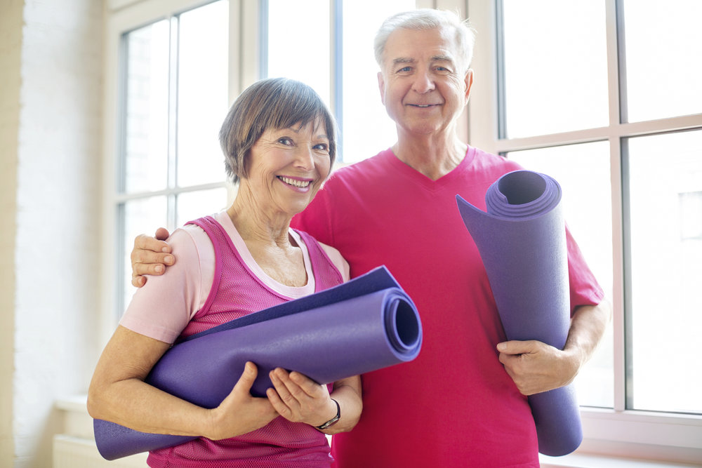 GOLDEN SENIOR YOGA  -