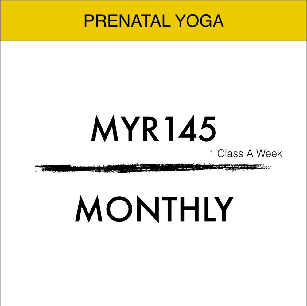 Some Months has 5 Weeks and it is Included . MIN 6 Months Commitment of Prenatal Yoga