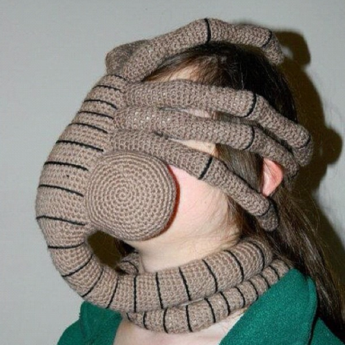 Weird Knitting and Crochet Gift Ideas...creepy, naughty ...