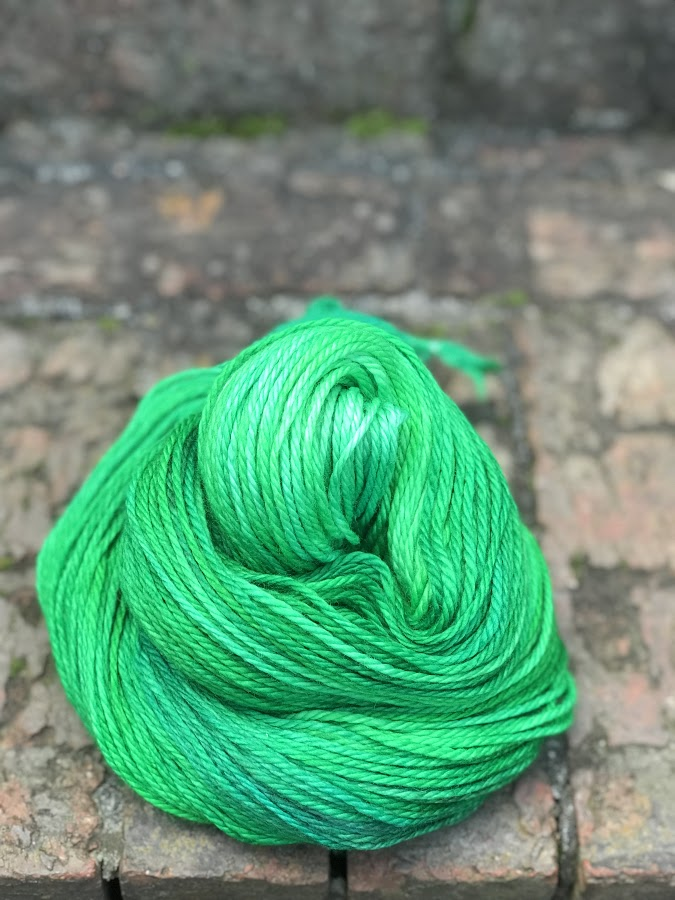 Deliciate - Aran $24   100% Superwash Merino Wool - 3 Ply 165.5 meters / 181 yards