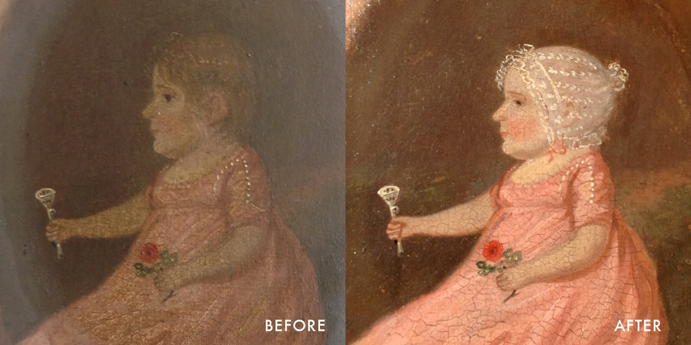 Fine Art Conservation Restoration Repairs Paintings