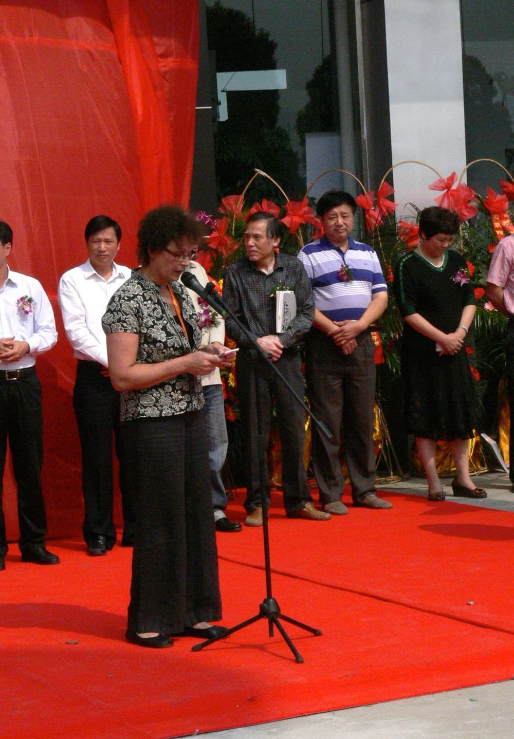 2012 -Speech on behalf of the artists at the opening of the new Yixing International Modern Pot Art Museum.