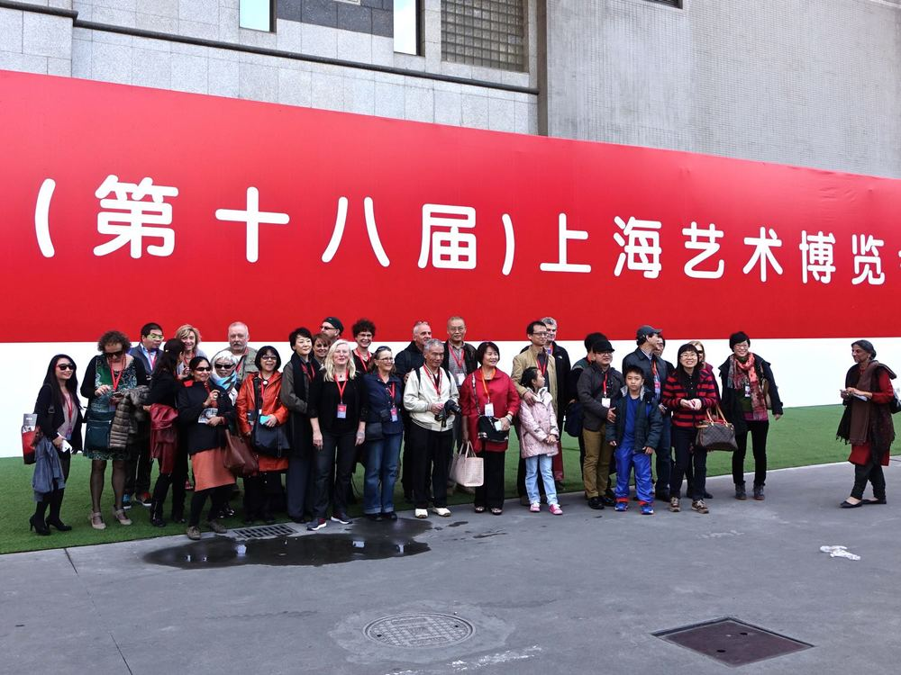 visiting the 2014 Shanghai Art Fair