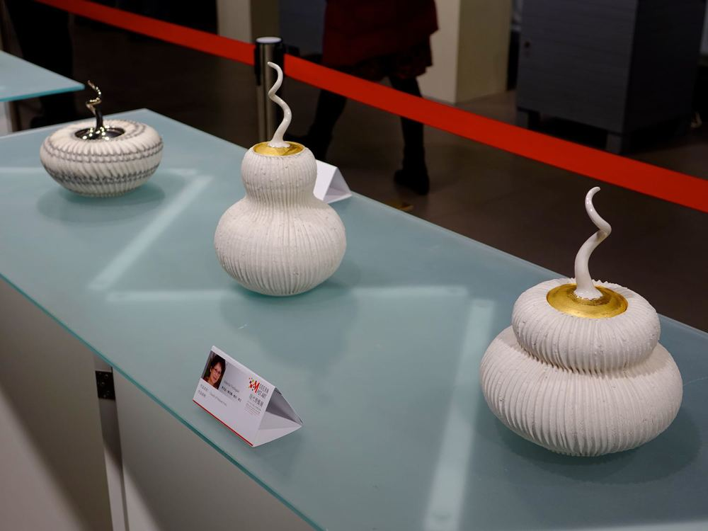 2014 –my pots in the exhibition