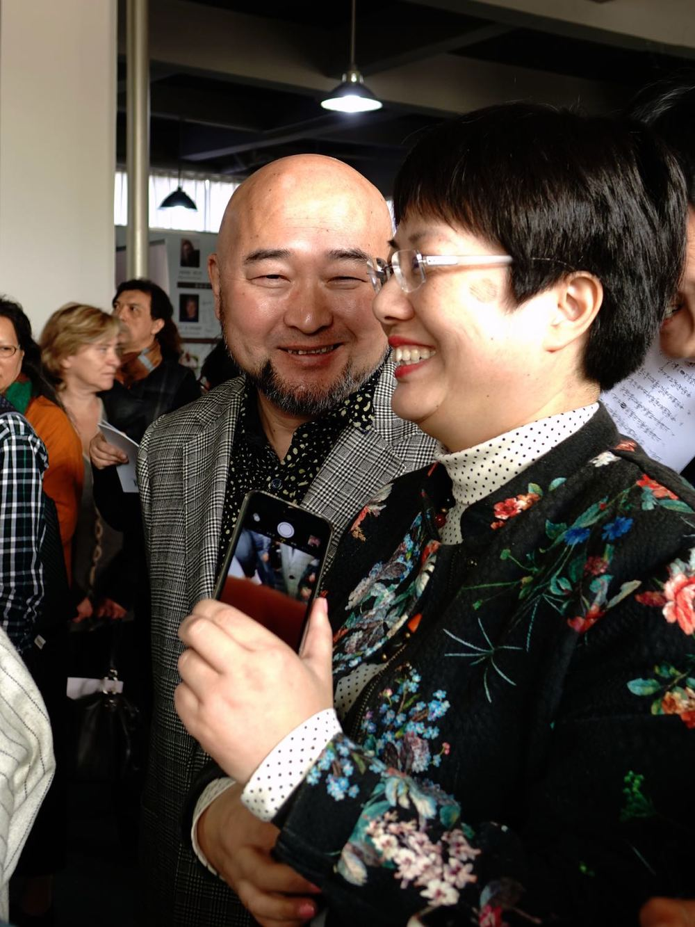 2014 -Ge Jun and his wife Anna