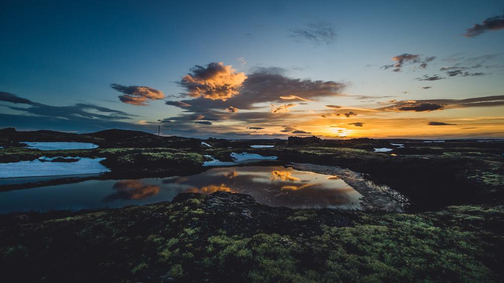 Outside of Reykjahlíð, Iceland
