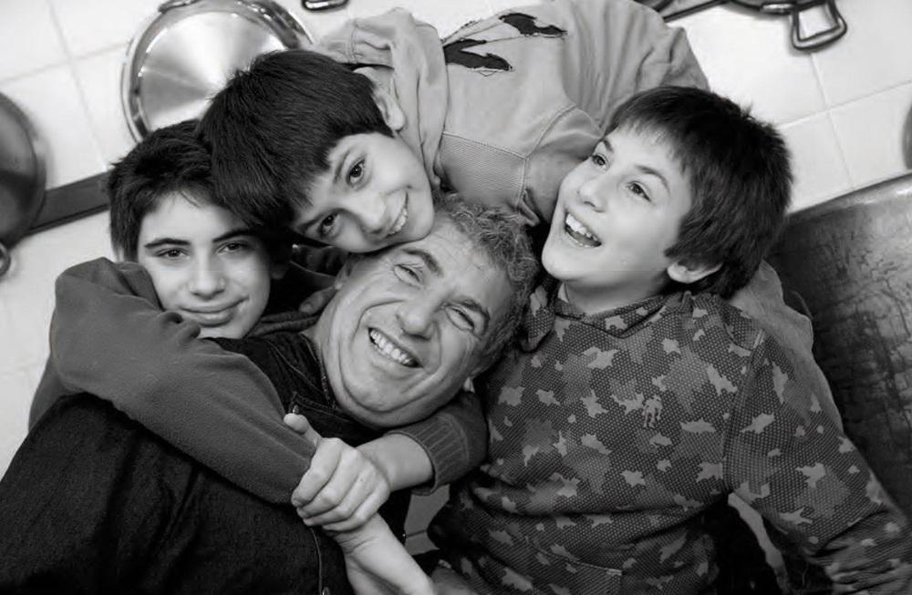 """© Azzurra Primavera, scattata per la realizzazione del libro """"Mio papà è un vero chef"""" - Ostellato FE"""