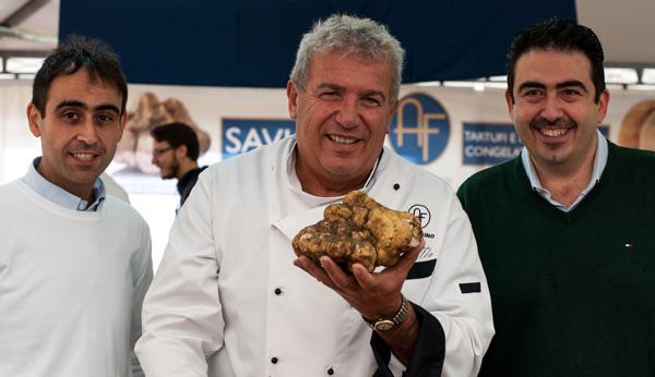 Igles Corelli con 1483 e Angelo e Luigi Dattilo di Appennino Food - 9 novembre 2014