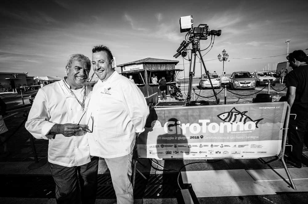 Igles Corelli e Fabrizio Barontini