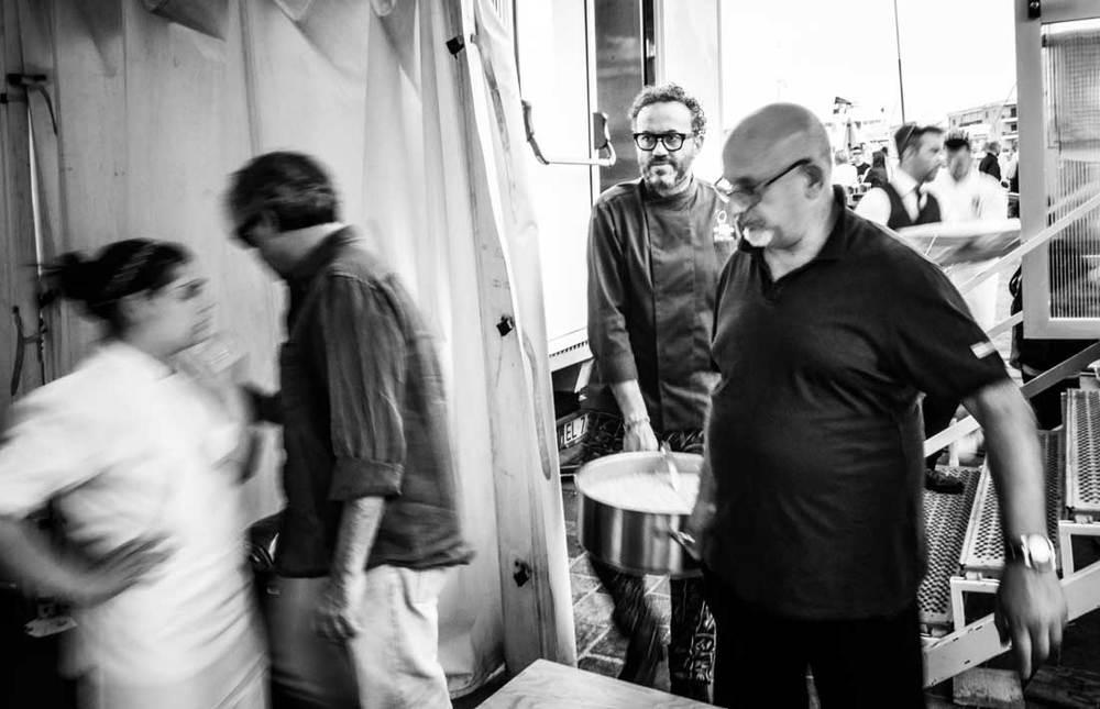 Claudio Sadler e Luigi Pomata