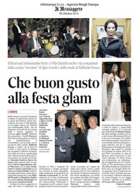 IL Messaggero 9 Ottobre 2014