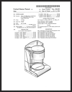 AD Coffeemaker Patent Program