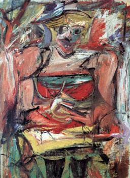 Williem de Kooning's woman v