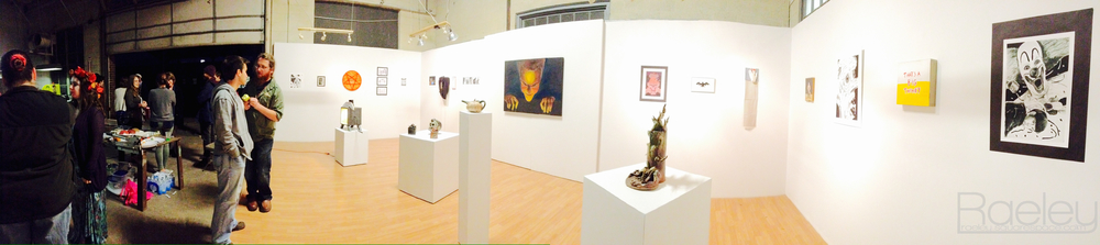 Panorama of the gallery taken with the iPhone 4s