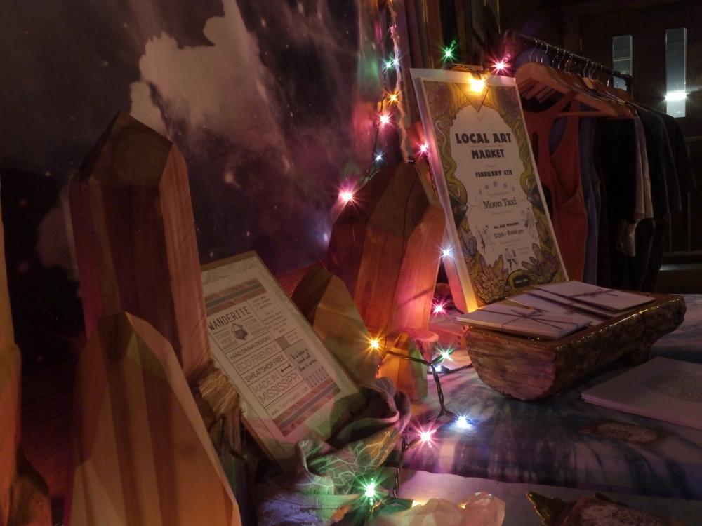Lorrin Webb's Wanderite booth