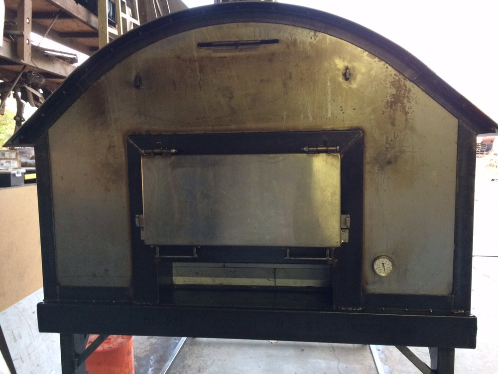4'X6' wood fired oven built by Boreal Heat in Ashland, OR. $12,000.