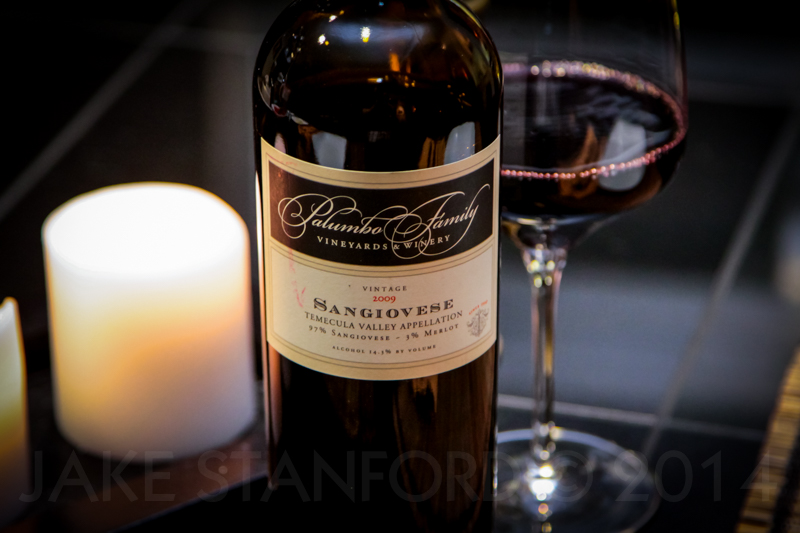 Sangiovese from Palumbo Family Winery in Temecula