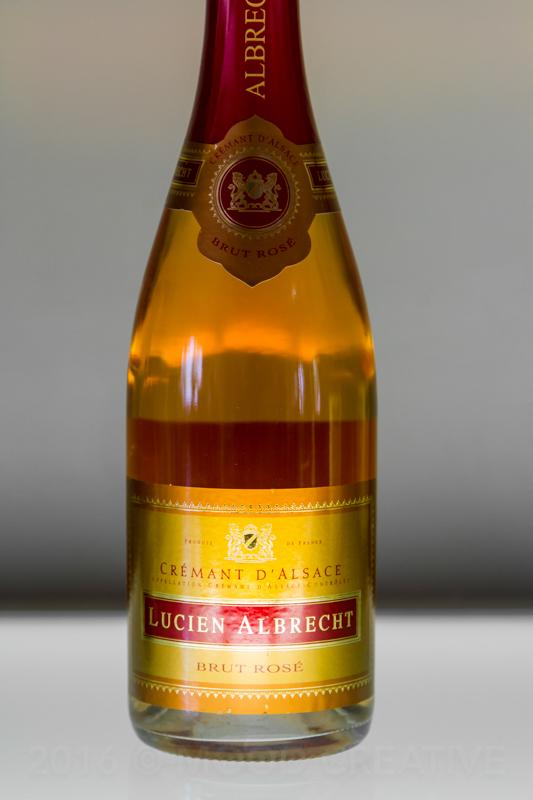 France: Sparkling Brut Rosé of Pinot Noir