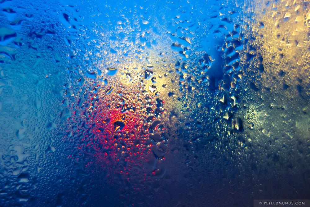 Condensation 10 - Lagoon - Blue