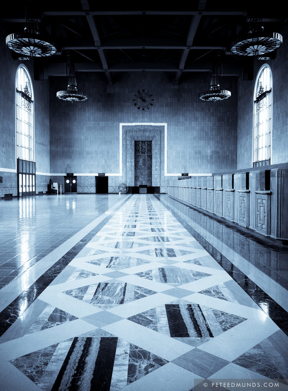 Old Ticketing Hall - Union Station - Los Angeles