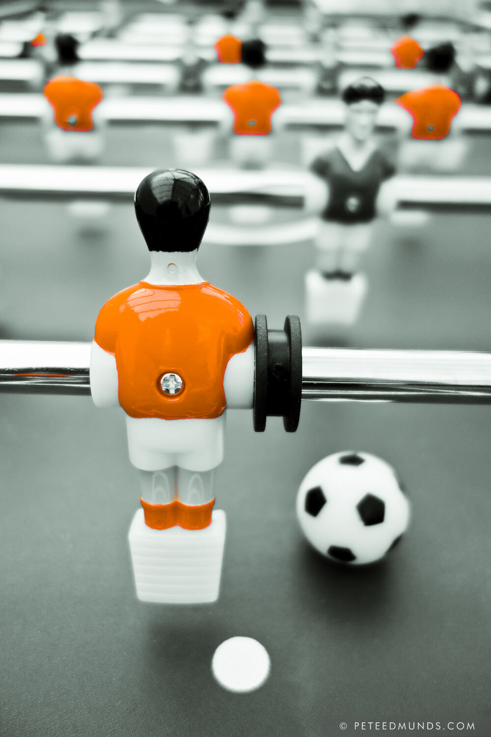 Table Football 02B - Defender | Orange