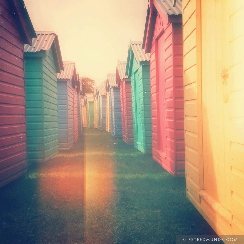 Beach Huts 02D - Retro