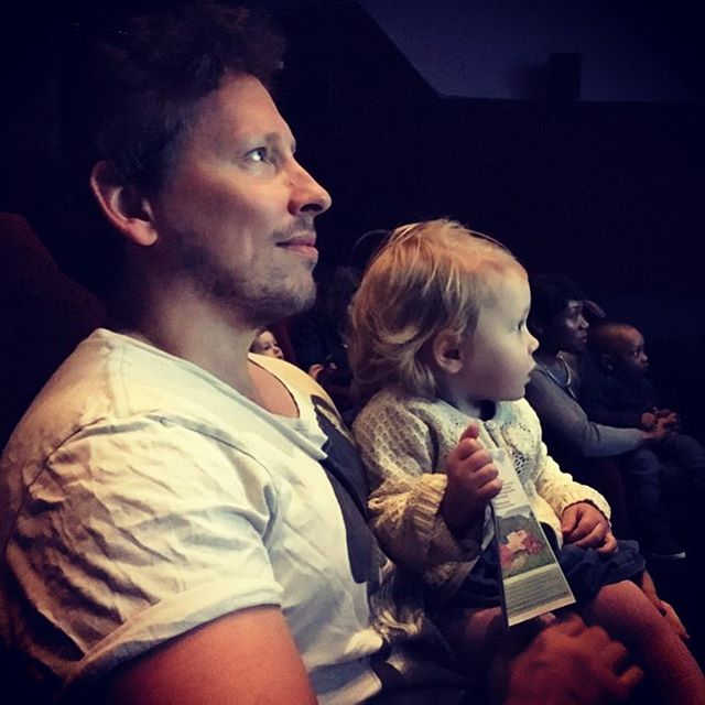 Mila's first cinema trip.  She seemed to really enjoy A Quiet Place. #Baby #Cinema #Movie #Picturehouse #brixtonritzy @ritzy_cinema