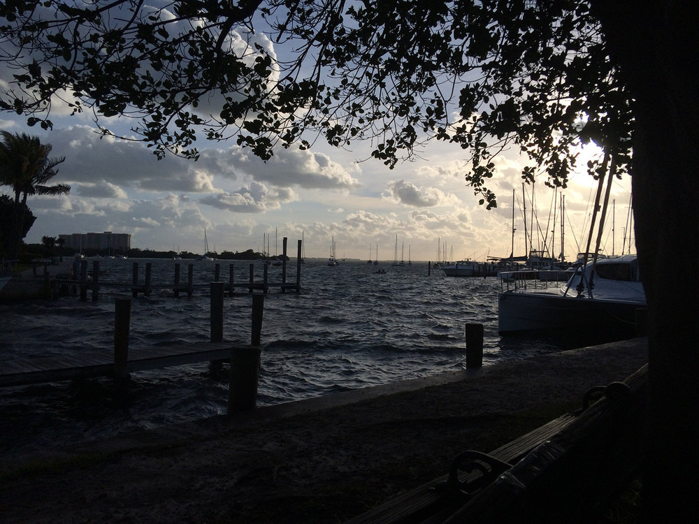 Biscayne Bay off Coconut Grove, FL