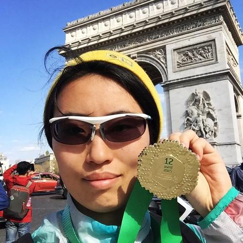 Paris Marathon -