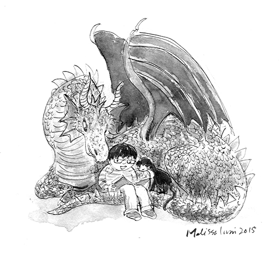dragon inktober 100dpi Melisa Iwai.jpg