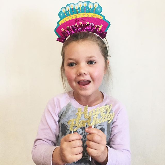 Our Rynnie is 5 today! But she wishes she was still 4 because she doesn't want to get old 😂 This girl is a little comedian, clever as can be and sneaky too, always thinking outside of the box, quick to get angry, quicker to forgive and smile again, sensitive as can be, messy in all things, my sweet snuggler. She loves her friends, dirt, bugs, animals, candy, and frozen vegetables. She is a mess of a girl who brings joy into the lives of all who know her! We love our Rynnie mouse! #becauseshesrynn